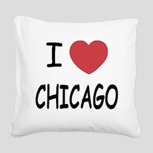 CHICAGO Square Canvas Pillow