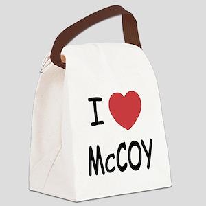 MCCOY Canvas Lunch Bag