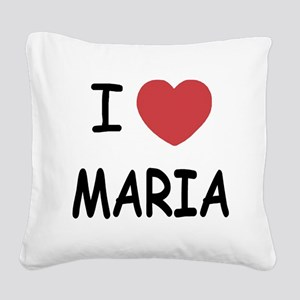 MARIA Square Canvas Pillow