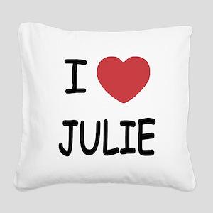 JULIE Square Canvas Pillow