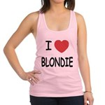 BLONDIE.png Racerback Tank Top