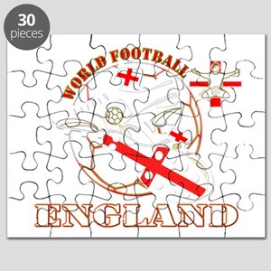 World Football England Design Puzzle