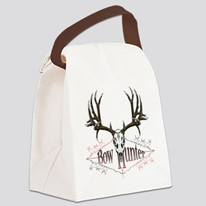 Bow hunting,deer skull Canvas Lunch Bag