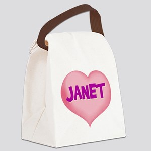 JANET Canvas Lunch Bag