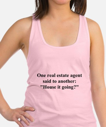 houseitgoing.png Racerback Tank Top