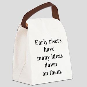 earlyrisers Canvas Lunch Bag