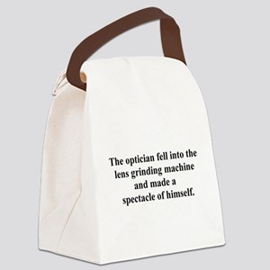 opticianfell Canvas Lunch Bag