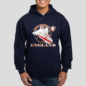 World Football England Design Hoodie (dark)