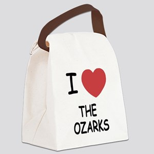 THE_OZARKS Canvas Lunch Bag