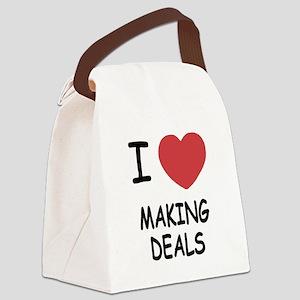 MAKING_DEALS Canvas Lunch Bag
