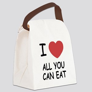 ALL_YOU_CAN_EAT Canvas Lunch Bag
