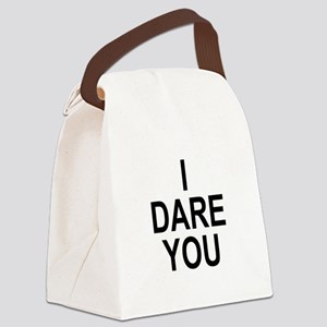 I_DARE_YOU Canvas Lunch Bag