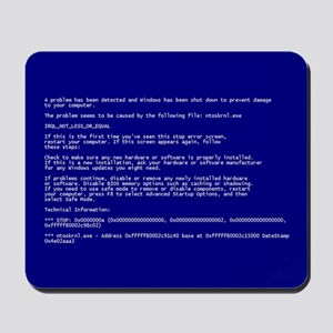 BSOD Mouse Pad