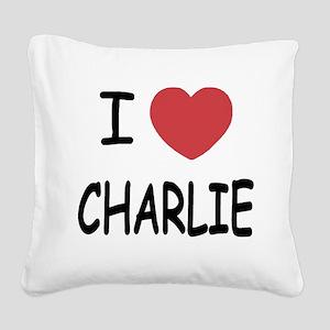CHARLIE Square Canvas Pillow