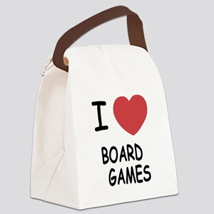 BOARD_GAMES Canvas Lunch Bag