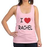 I love rachel Womens Racerback Tanktop