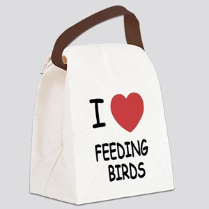 FEEDINGBIRDS Canvas Lunch Bag