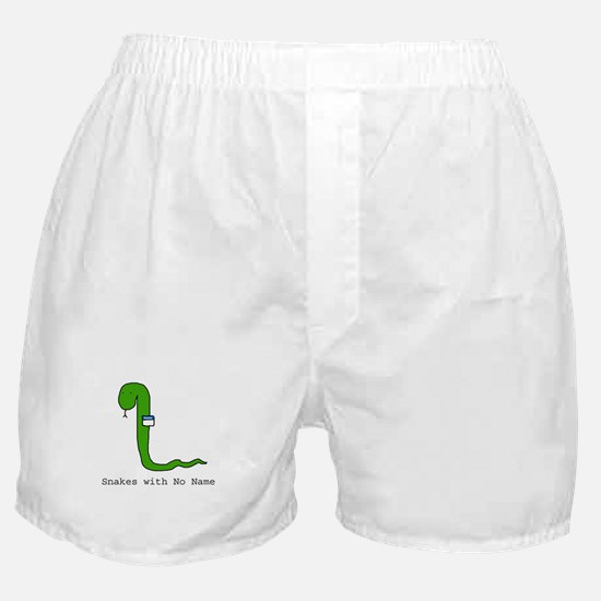 Snakes with No Name Boxer Shorts