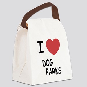 DOG_PARKS Canvas Lunch Bag