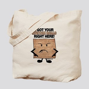 I Got Your Matzah Balls Right Tote Bag