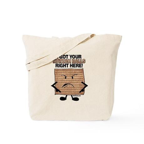 I Got Your Matzah Balls Right Tote Bag