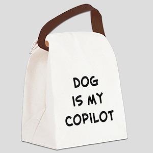 dogismycopilot Canvas Lunch Bag