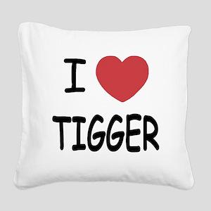 TIGGER Square Canvas Pillow