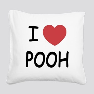 POOH Square Canvas Pillow