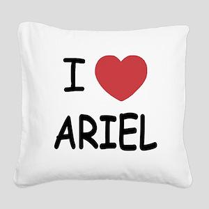 ARIEL Square Canvas Pillow