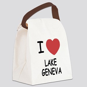 LAKE_GENEVA Canvas Lunch Bag