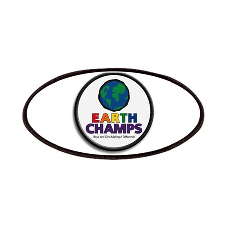 Earth Champs Logos Patch