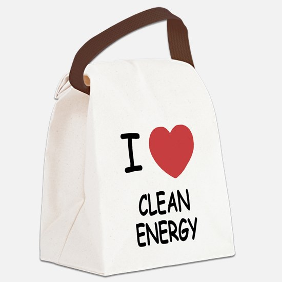 CLEANENERGY.png Canvas Lunch Bag