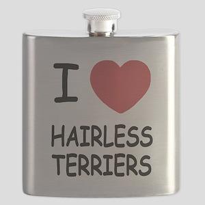 HAIRLESSTERRIERS Flask