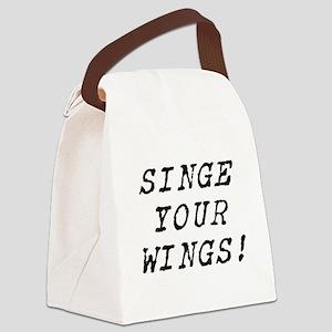 SINGEYOURWINGS Canvas Lunch Bag
