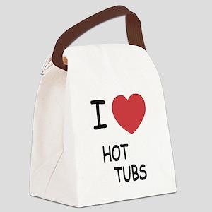 HOTTUBS Canvas Lunch Bag