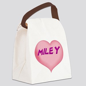 MILEY01 Canvas Lunch Bag