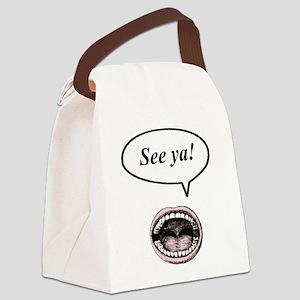 see_ya Canvas Lunch Bag
