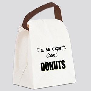 Im an expert about DONUTS Canvas Lunch Bag