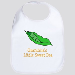 Grandmas Little Sweet Pea Bib