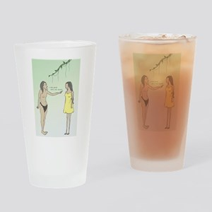 Jane Appropriator Drinking Glass