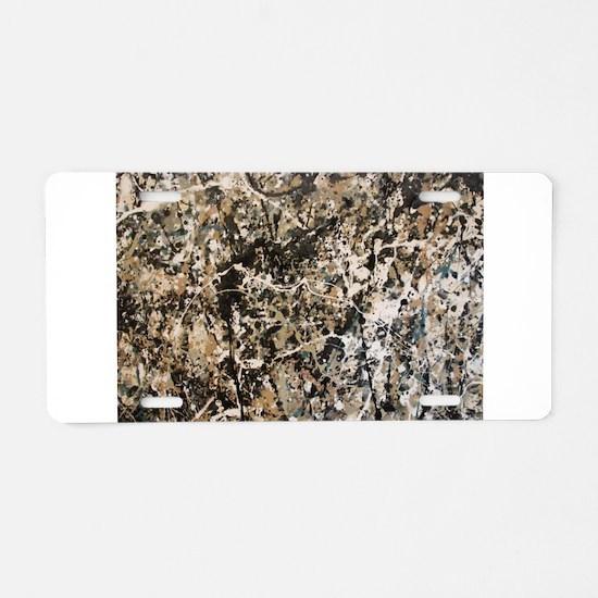 Famous Paintings: Action Jackson Aluminum License