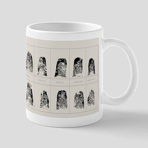 Booked! Fingerprints from La Policia! Mug