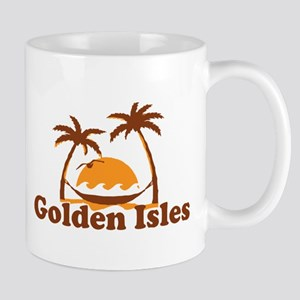 Golden Isles GA - Palm Trees Design. Mug