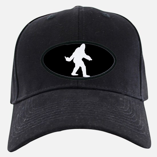 Bigfoot Flips The Bird Baseball Hat
