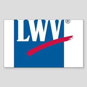 LWV Logo Sticker (Rectangle)