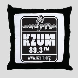 KZUM 89.3 FM/HD Throw Pillow