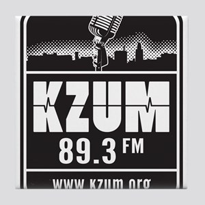 KZUM 89.3 FM/HD Tile Coaster