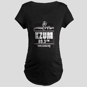 KZUM 89.3 FM/HD Maternity Dark T-Shirt