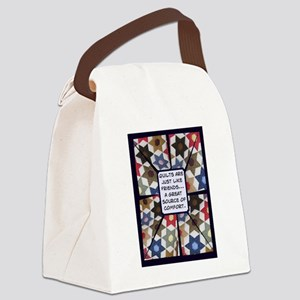 Debs Texas Star Canvas Lunch Bag
