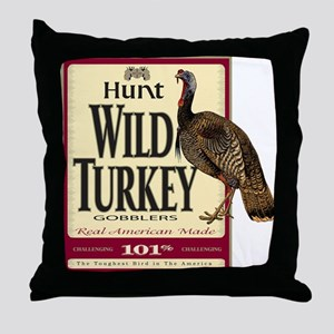 Hunt Wild Turkey Throw Pillow